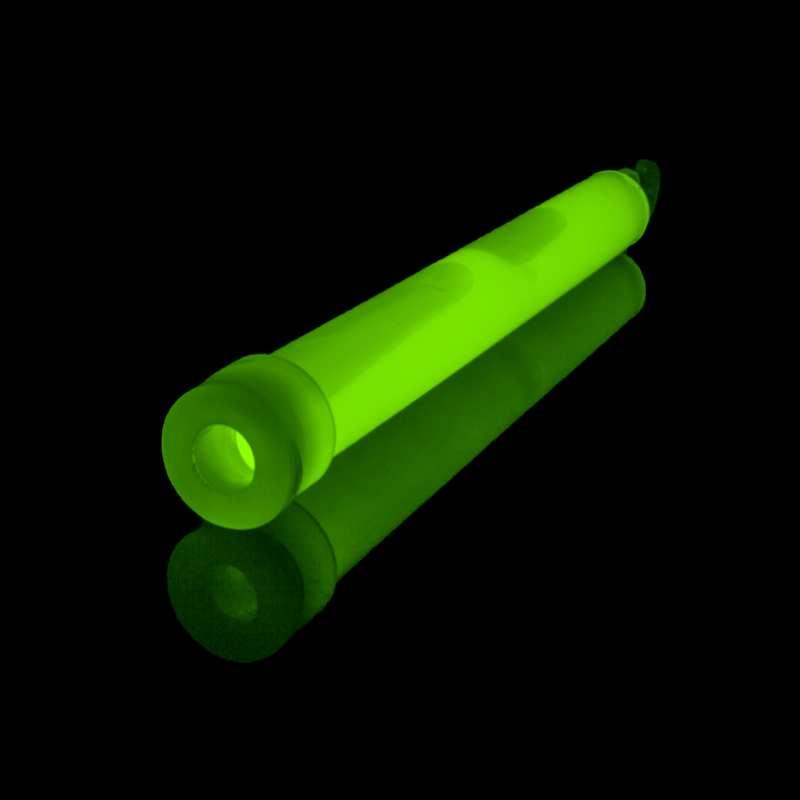 Svítící tyčinka zelená - 15cm