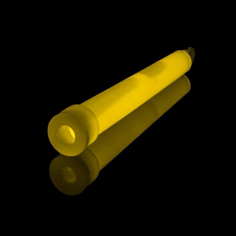 Svítící tyčinka žlutá - 15cm